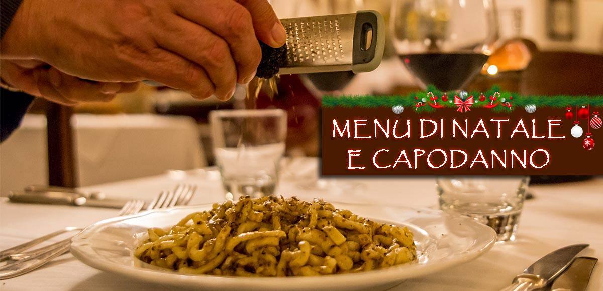 Christmas And New Year Festive Menu 2018 – Medioevo Restaurant Assisi