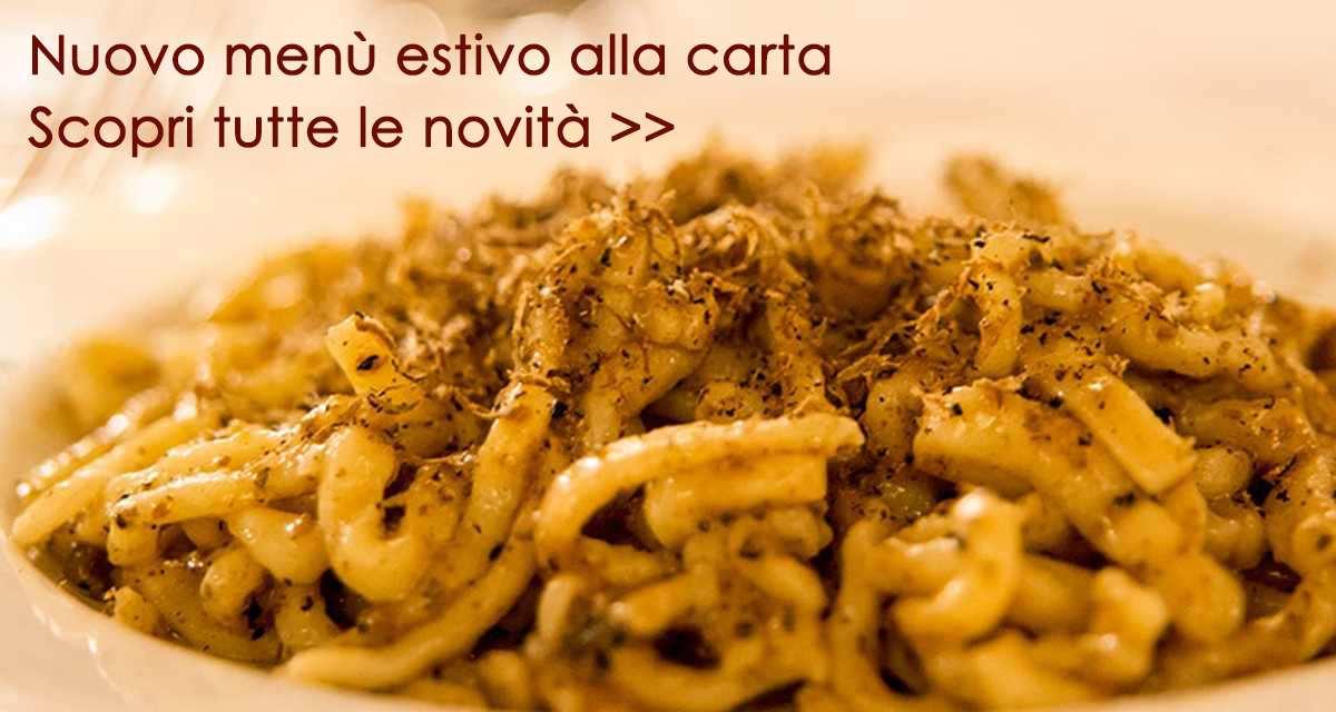 Strangozzi Al Tartufo Nero Ristorante Assisi