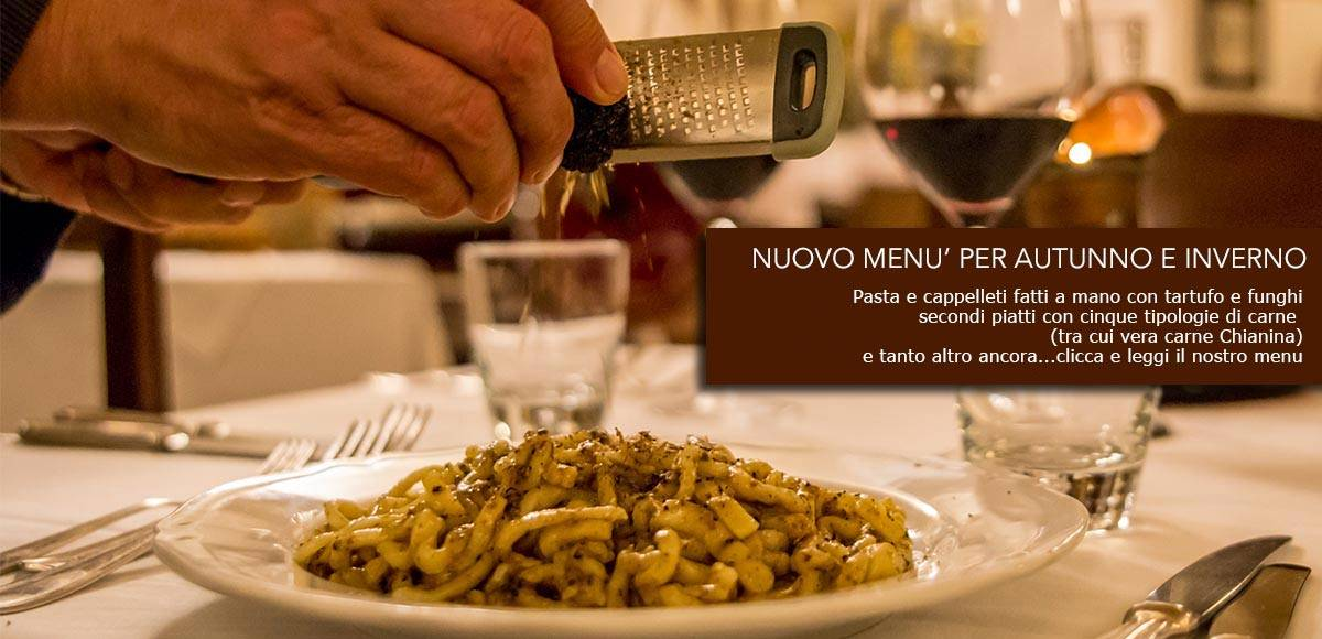 New Autumnal Menu 2019 – Medioevo Restaurant Assisi