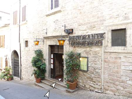 Ingresso Ristorante Medioevo Assisi